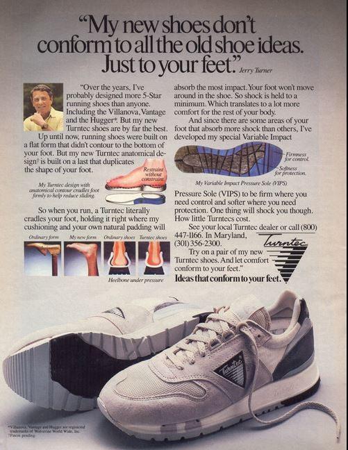 Turntex running shoes
