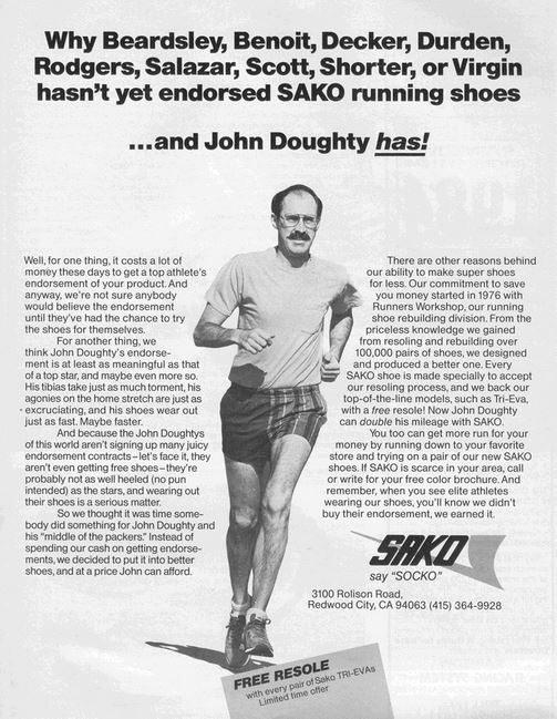 Sako running shoes