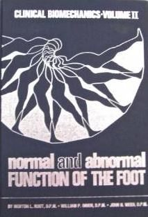 Normal and Abnormal Function of the Foot