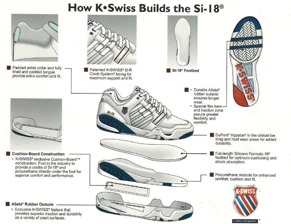 K-SWISS SI-18 INTERNATIONAL