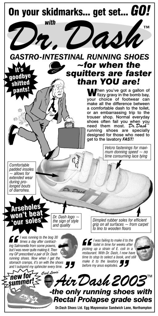 DR DASH GASTRO-INTESTINAL RUNNING SHOES