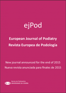 European Journal of Podiatry / Revista Europea de Podología