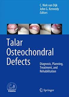 Talar Osteochondral Defects Diagnosis, Planning, Treatment, and Rehabilitation