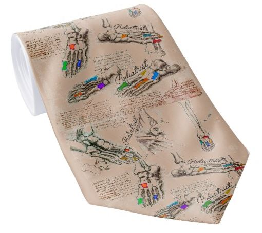 podiatry neck tie