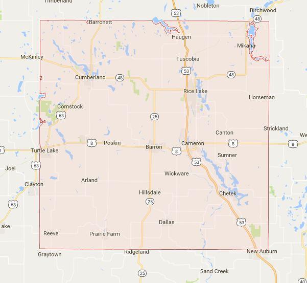 Find a Podiatrist in Barron County, Wisconsin