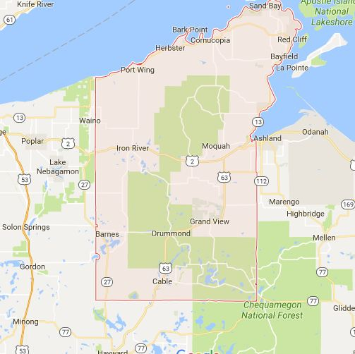 Find a Podiatrist in Bayfield County, Wisconsin