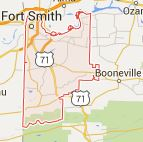 Find a Podiatrist in Sebastian County, Arkansas