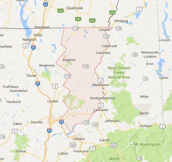 Find a Podiatrist in Essex County, Vermont