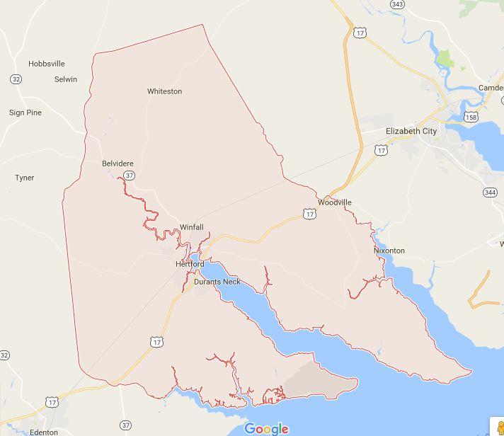 Find a Podiatrist in Perquimans County, North Carolina