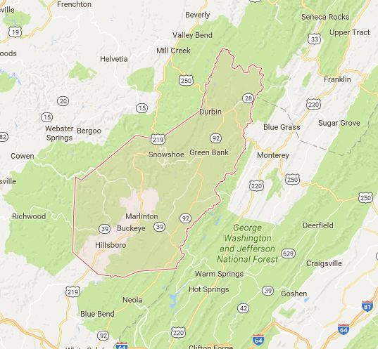 Find a Podiatrist in Pocahontas County, West Virginia