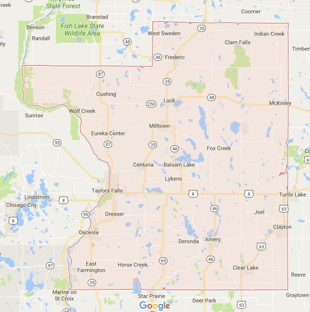 Find a Podiatrist in Polk County, Wisconsin