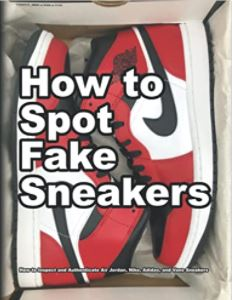 How to Spot Fake Sneakers